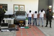 Capturadas tres personas que trasportaban elementos hurtados en Arauca