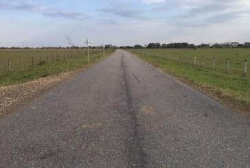 Esta es la vía que quieren repavimentar en la Graciela.