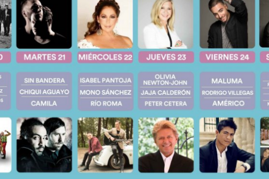 Los organizadores del Festival de Viña del Mar. Realizará entre el 20 y 25 de febrero de 2017.