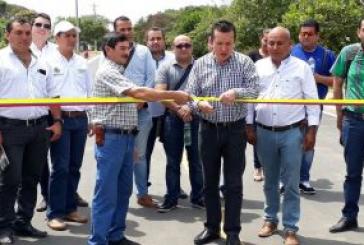 San José del Bubuy en Aguazul cuentan con Alcantarillado Pluvial y vías pavimentadas.