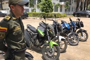 Este fin de semana la Policía recuperó dos motocicletas que habían sido hurtadas en Villanueva y Yopal