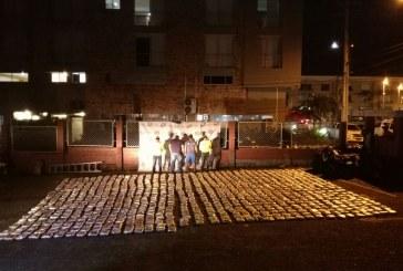 412 kilos de marihuana camufladas en un tractocamión fueron incautados por la Policía en Villavicencio