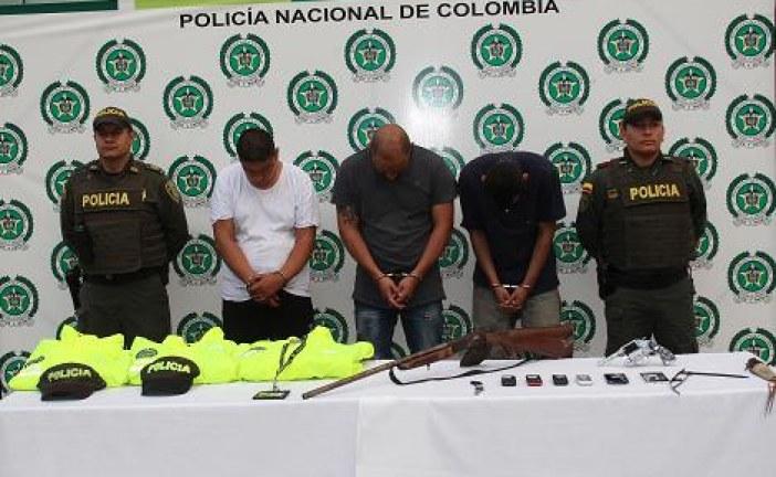 Cinco delincuentes disfrazados de personal de la Sijin ingresaron al agroparque Mararay