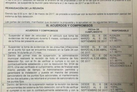 #EnAudio Concejal César Ortiz explica suspensión de las fotomultas en la ciudad.
