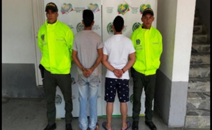 Policía capturó peligrosa banda dedicada al hurto de residencias en Arauca