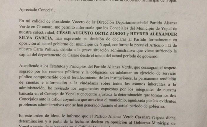 #EnAudio Concejal Heyder Silva cuestiona elección de la nueva mesa directiva del concejo.