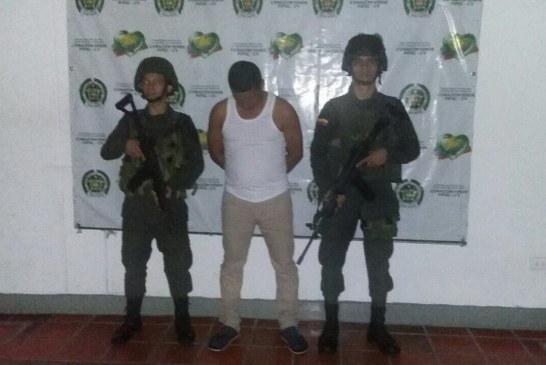 Por violencia intrafamiliar este hombre fue capturado por la Policía en Arauca