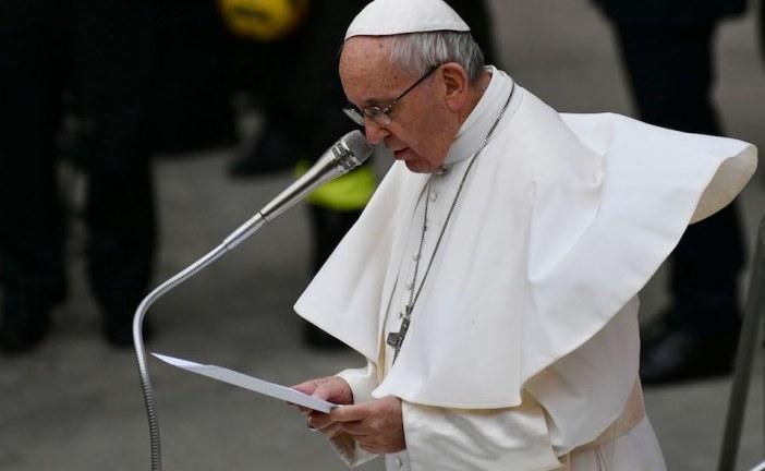 El Papa Francisco pidió oración por tragedia de Mocoa