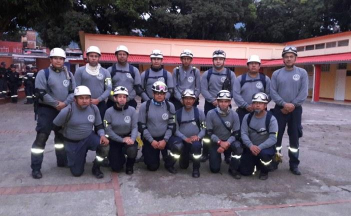 Bomberos de Casanare apoyan labores de rescate en Mocoa