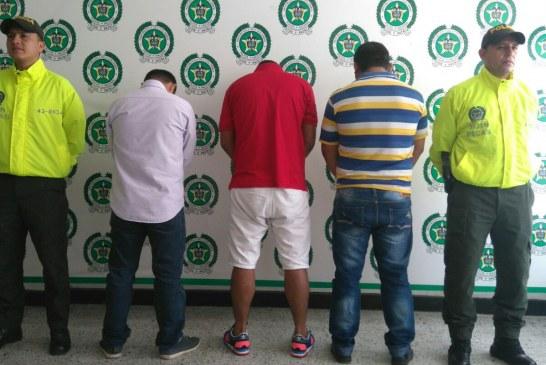 """Policía capturó en Yopal y Bogotá a """"los efectivos"""", dos de sus integrantes aceptaron cargos"""