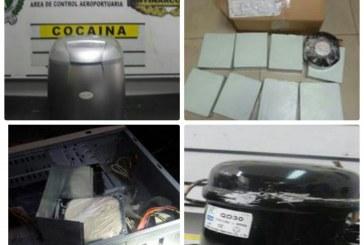 Enviaban al exterior aparatos eléctricos en garantía, pero cargados con cocaína