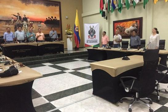Asamblea Departamental convocada a sesiones extraordinarias.