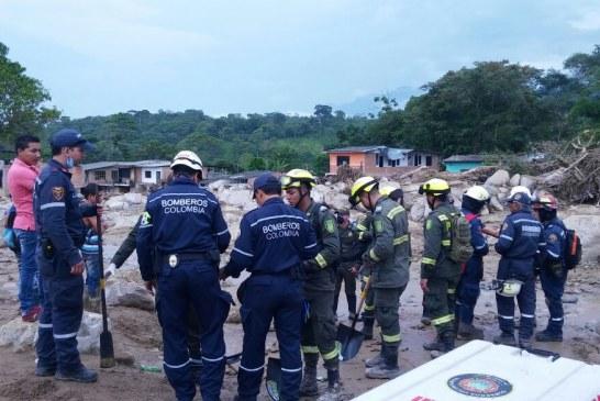 #EnAudio Capitán Harvey Ramírez reporta desee #Mocoa labores de búsqueda y rescate.