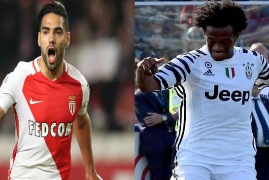 Juventus vs. Mónaco: el duelo entre Cuadrado y Falcao en la Champions