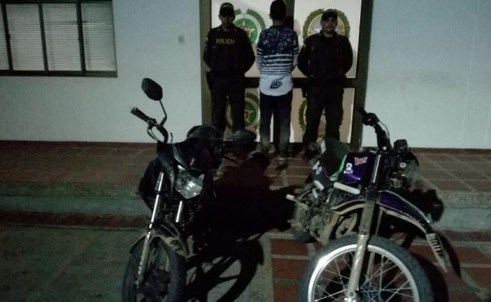 En Paz de Ariporo recuperaron una motocicleta e incautaron otra