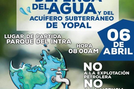 #EnAudio William Molina L. invitó a marchar éste 6 de abril por la defensa de los acuíferos subterráneos de Yopal