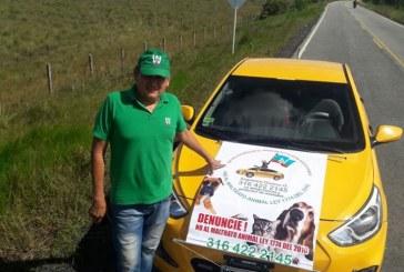 Taxista Casanareño lucha por la protección animal en los Llanos Orientales
