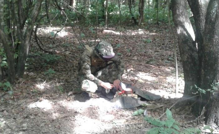 Destruida área campamentaria en la cual se fabricaban artefactos explosivos en Arauca