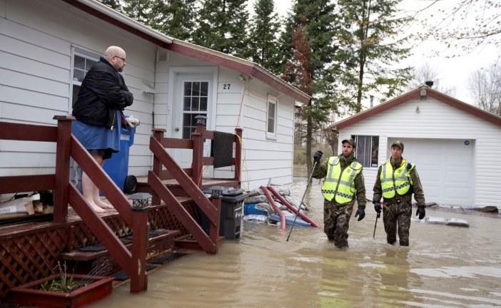 Pese a fuertes lluvias, en Canadá sortearon dificultades inmediatamente