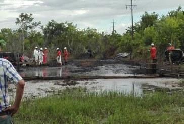Maniceños afirman ¿cómo la industria petrolera puede defender lo indefendible? Contaminación ambiental por derrame de crudo