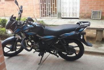 Policía recuperó motocicleta en Yopal