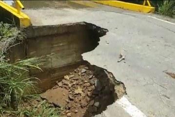 #EnAudio Ordenan cierre de puente en la vía a la vereda Picón