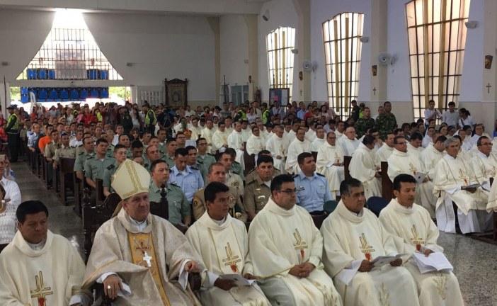 Monseñor Edgar Aristizábal asumió formalmente el cargo de obispo de Yopal