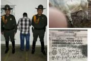 Por falsedad en documento público, Carabineros capturaron a un hombre en la Subasta Ganadera de Yopal