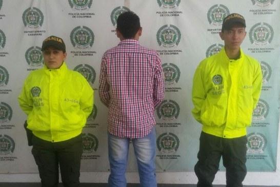 Presunto homicida de un ciudadano de San Luis de Palenque fue enviado a la Cárcel