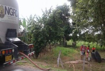 Ante la súplica de agua potable en 16 veredas de Hato Corozal la Gobernación reactivó suministro de agua por carrotanques, pero solo en 4 de ellas.