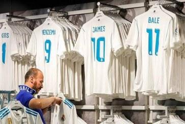 James conserva el número 10 en la nueva camiseta del Real Madrid
