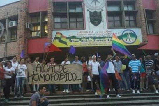 #EnAudio En #Yopal también se realizó la marcha del #OrgulloGay