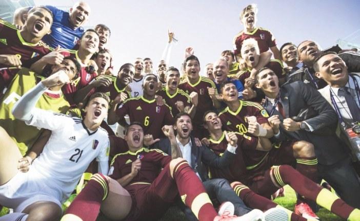 Venezuela, unida por el fútbol