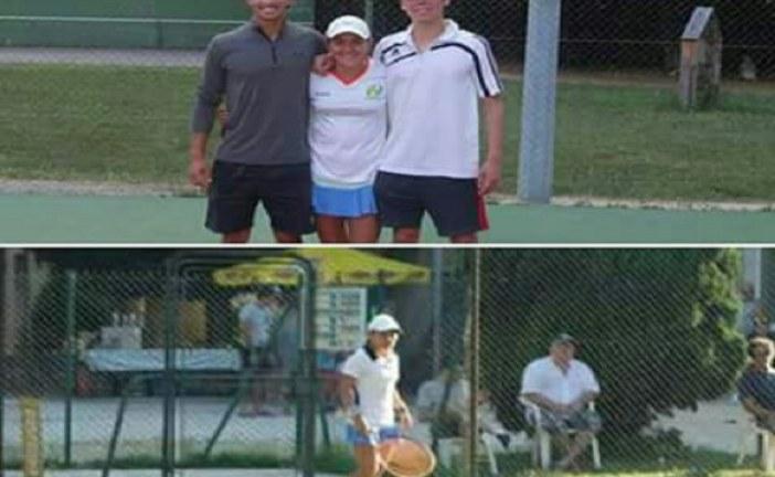 La tenista casanareña que deja en alto el nombre del país en Europa.