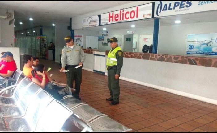 Policía de Turismo trabaja en la protección de los bienes culturales de Yopal