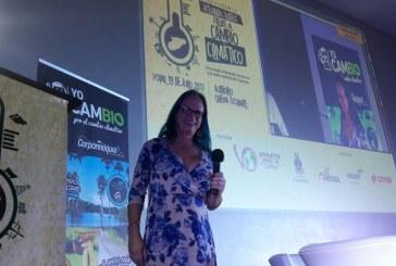 El cambio climático es inevitable e irreversible: Brigitte Baptiste