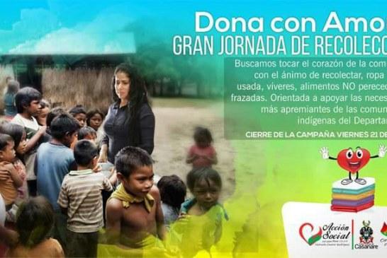 #EnAudio Acción Social Deptal realiza jornada de recolección de ayudas humanitarias para comunidades indígenas