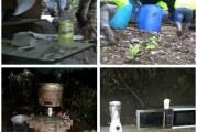 Policía en Boyacá destruyó laboratorio para el procesamiento de Clorhidrato de Cocaína