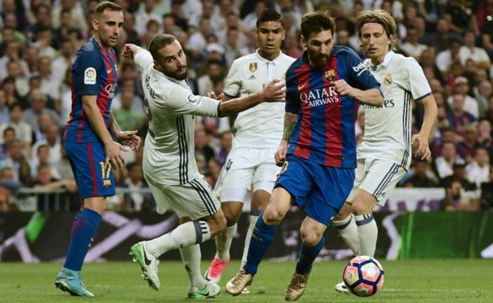 El primer clásico entre Real Madrid y Barcelona será el 20 de diciembre
