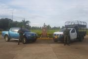 Carros robados en Yopal fueron recuperados en Tame por el ejército