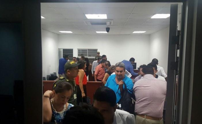 25 exfuncionarios de la Gobernación de Casanare y Alcaldía de Hato Corozal en audiencia judicial por irregularidades en contratación estatal