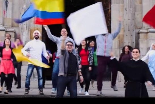 """#EnAudio David Yamel Guevara, músico Casanareño que participa en la producción de """"Demos el primer paso"""", Himno oficial de la visita Papal."""
