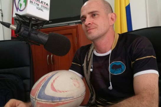 #EnAudio John Rueda habla del Torneo de Rugby 1° Copa de la Orinoquía que se realizará en Yopal.