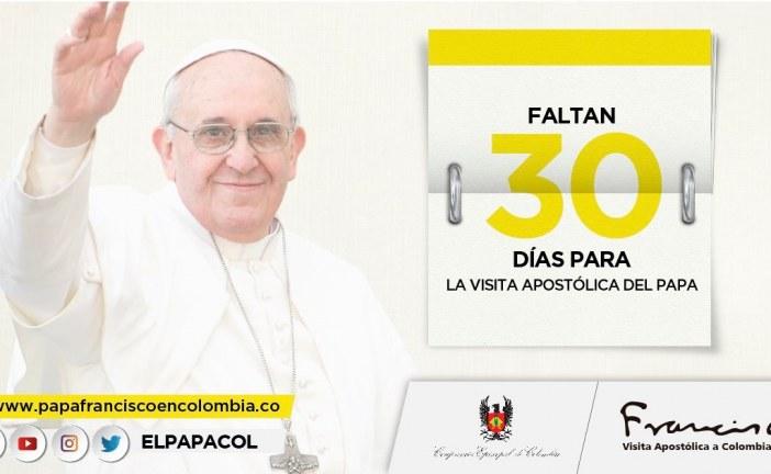 #EnAudio Hablamos sobre los preparativos de la visita de @Pontifex_es  a #Villavicencio.
