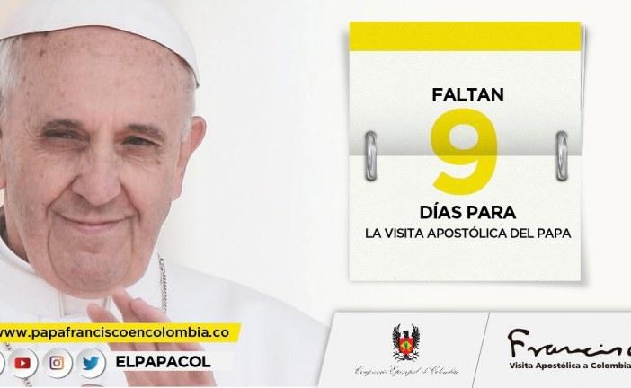 #EnAudio Valeria Contreras del Observatorio Arquidiocesano nos cuenta los preparativos logísticos en #Bogotá para la visita de El Papa.