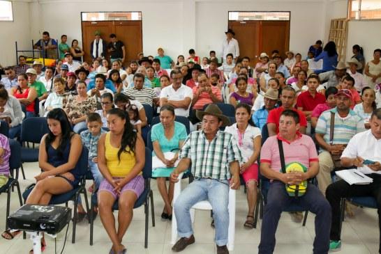 Secretaría de Agricultura socializó los proyectos productivos aprobados