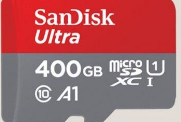 ¿Se imagina una SD de 400 GB? SanDisk la hizo realidad.