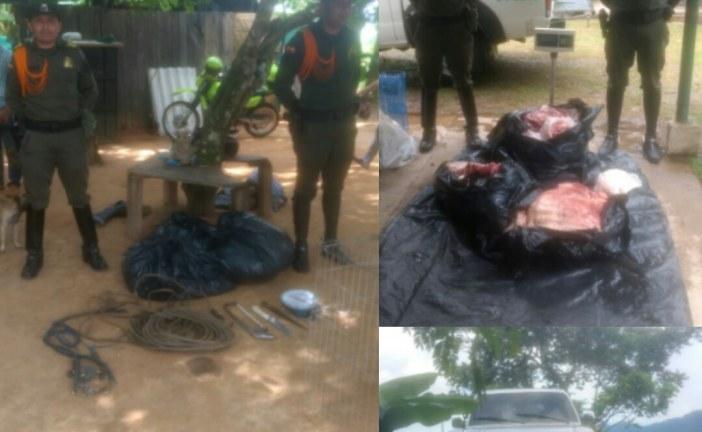 Carabineros frustran venta de carne producto de caso de carneo en Yopal