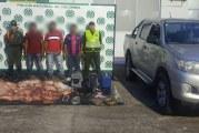 Tres sujetos capturó la Policía en Yopal,  por caso de carneo realizado en San Luis de Palenque