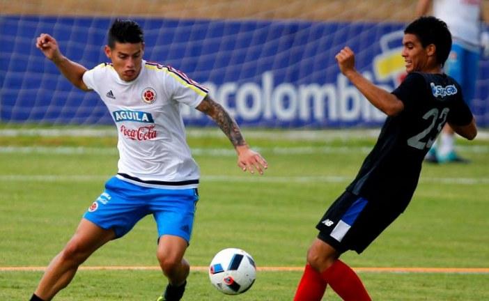 James, Teo y Aguilar, posibles cambios de Colombia contra Brasil